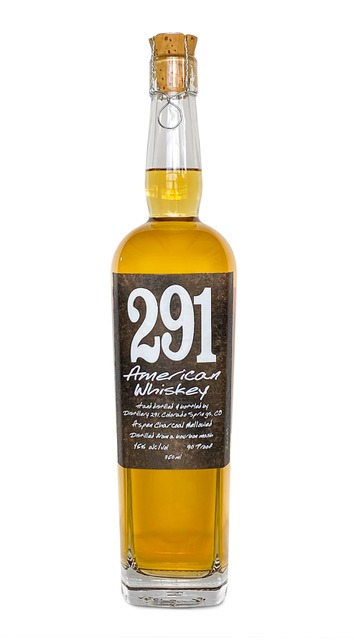 291 Colorado Whiskey White Dog Small Batch Aged for a moment in a White Oak Barrel