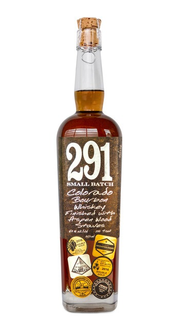 291 Colorado Bourbon Whiskey Barrel Proof Single Barrel Finished With Aspen Wood Staves